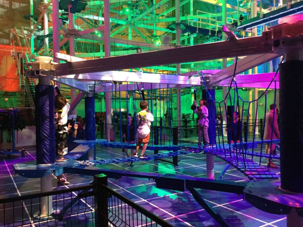 IT Adventure Ropes Course