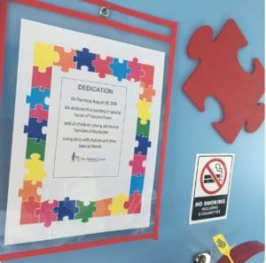 Autism Council of Rochester dedication