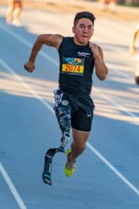 Arizona Disabled Sports Track Runner