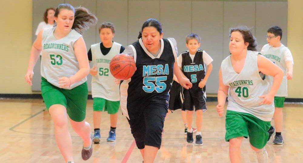 Arizona Disabled Sports - basketball game
