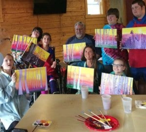 HEARTism painting class