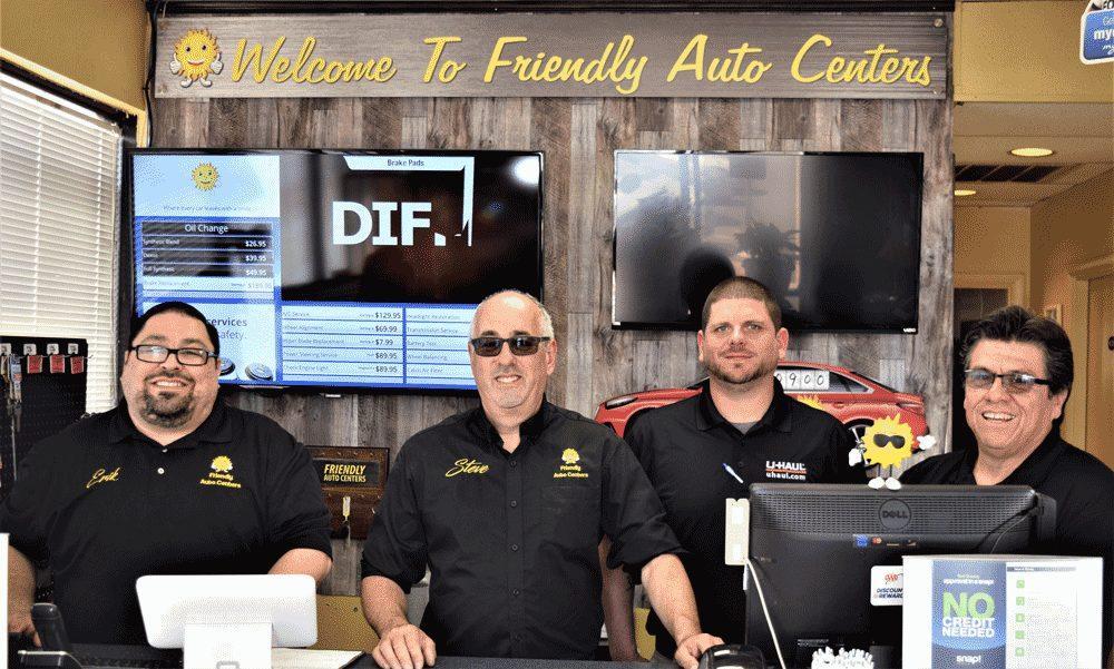 Friendly Auto Centers management team