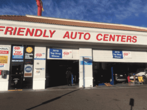 Friendly Auto Centers exterior