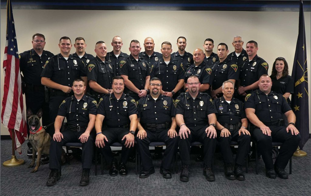 Greensburg PD group photo
