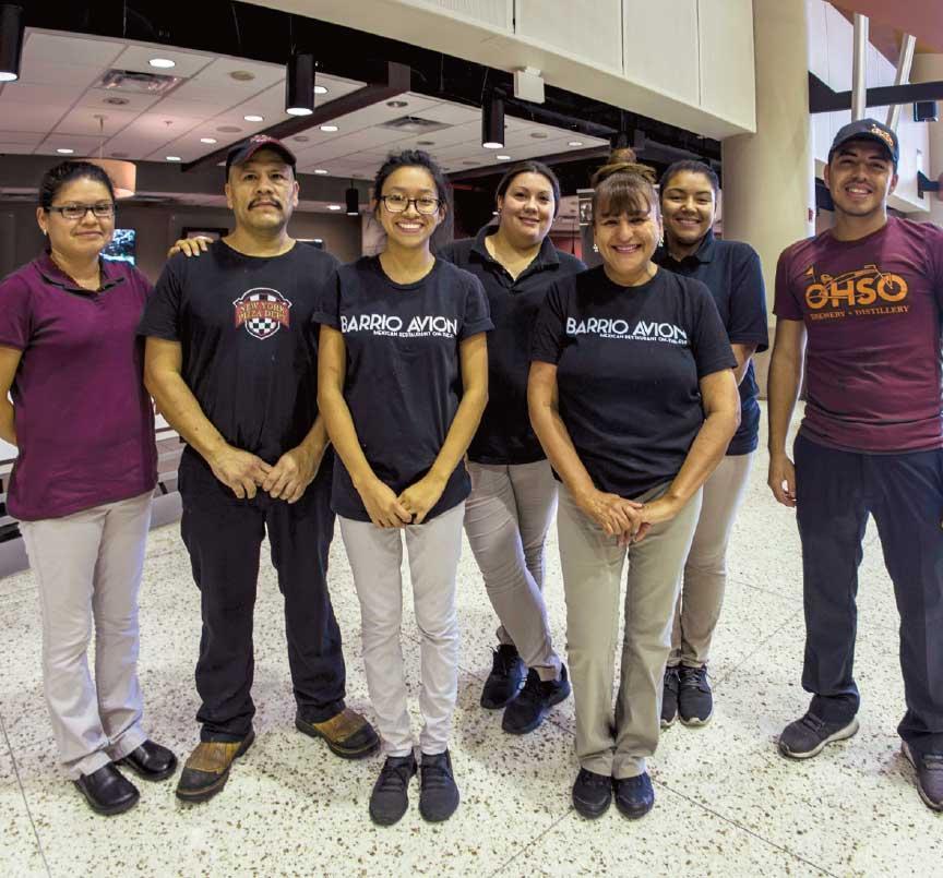 Mesa Airport Kind Hospitality group photo