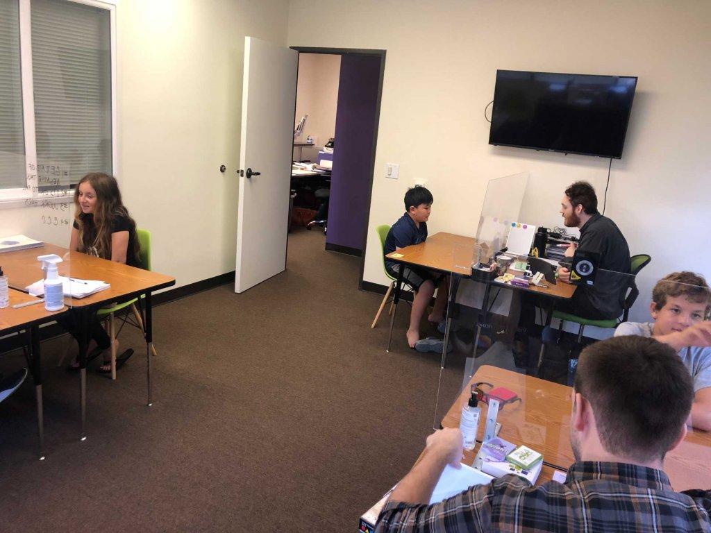 LearningRX Costa Mesa Irvine training room