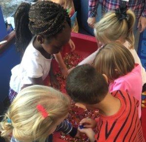 kids playing together at Strawbridge UMC