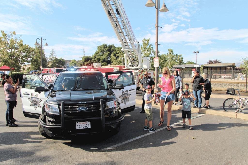Morgan Hill Police community day