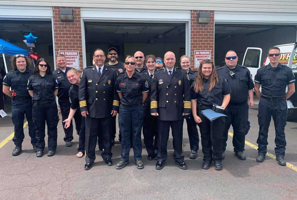 Boytertown Community Ambulance Service team photo