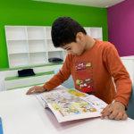 Athena Center reading